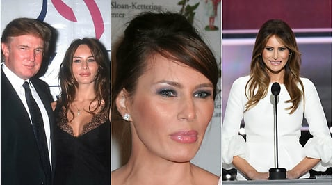 Slovenien, Mode, Melania Trump, Modell, Donald Trump, First Lady