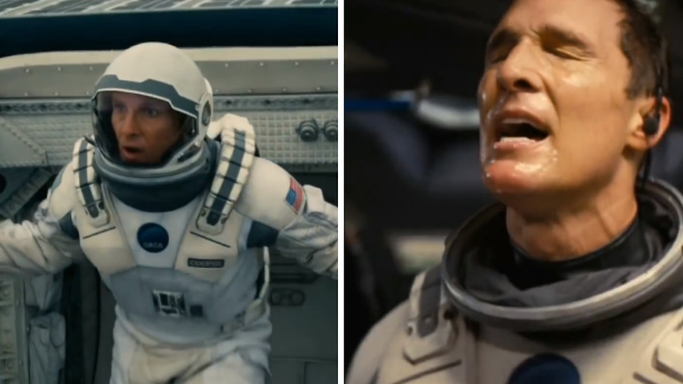 Recension av Interstellar.