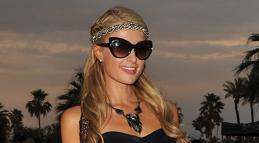 Paris Hilton, solange knowles ,  Festval, Coachella, Los Angeles