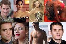 Angelina Jolie, Taylor Swift, sex, Prins Harry, Jennifer Lopez