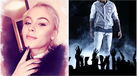 Zara Larsson, Chris Brown