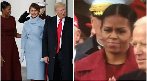 Michelle Obama, Donald Trump