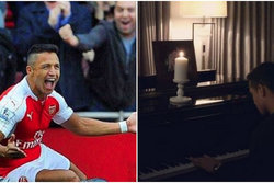 Fotboll, Romantiskt, Piano, Arsenal, Alexis Sanchez