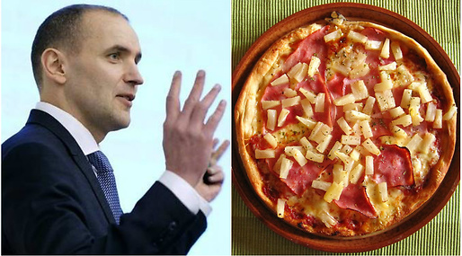 President, Pizza, Island, Ananas, topping