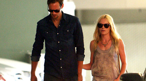 Shopping, Burberry, Kate Bosworth, Alexander Skarsgård