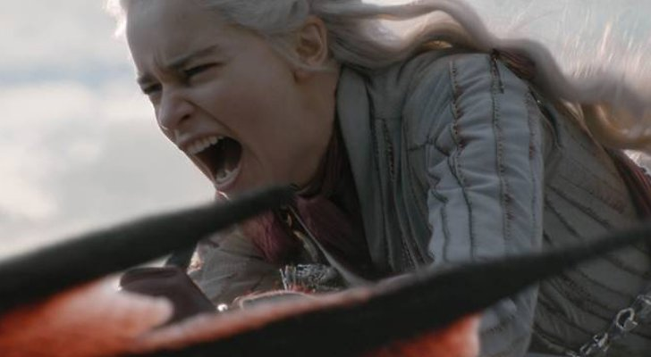 Daenerys Targaryen avsnitt 5 säsong 8 Game of Thrones