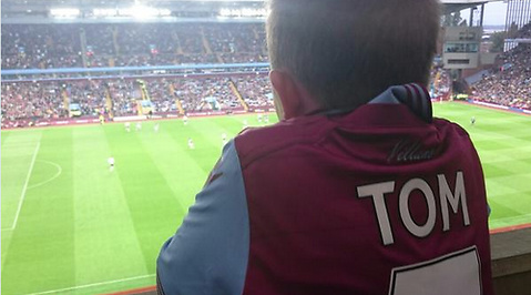 Fotboll, Aston Villa, leukemi, Cancer
