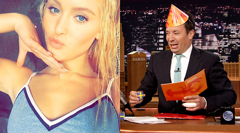 Jimmy Fallon, Zara Larsson