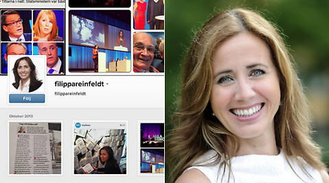 Moderaterna, instagram, Filippa Reinfeldt