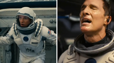 Recension, Interstellar, Matthew McConaughey