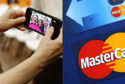 Iphone, Mastercard, USA, Fingeravtryck, Selfie, Bank