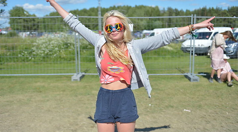 Hultsfred, festival, Mode