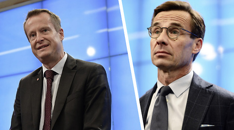 Anders Ygeman, Ulf Kristersson