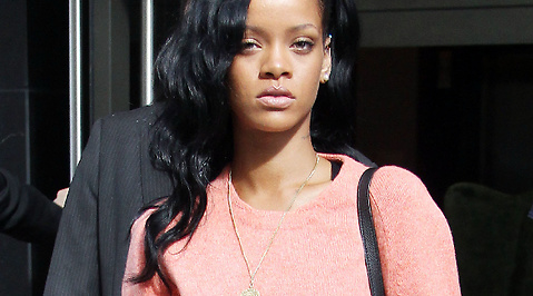 Rihanna, sjukhus, Hollywood, Rehab