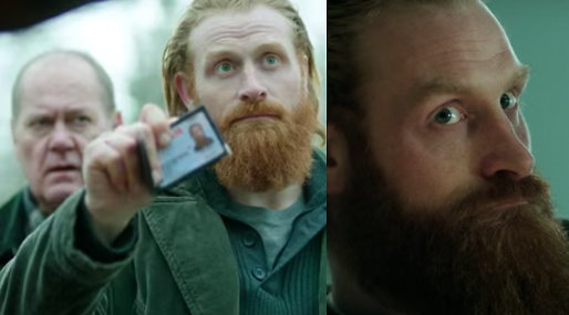 Peter Haber, Kristofer Hivju, beck