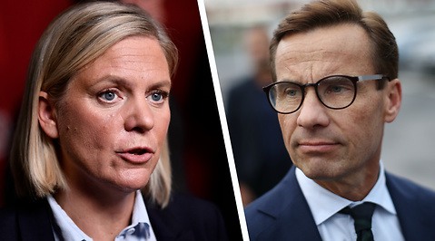 Ulf Kristersson, Magdalena Andersson