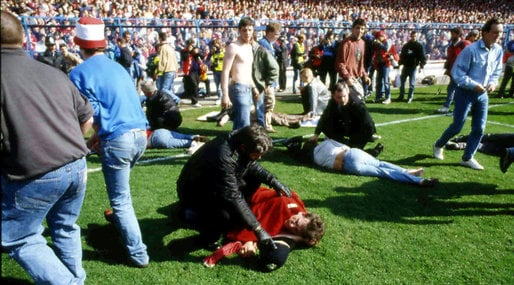 The Sun, Hillsborough, Don't buy the sun, 25 år,  Justice for the 96, Liverpool FC, Anfield Road, Minnesceremoni