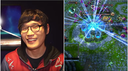 E-sport,  Lee Hyun-woo,  lol,  Cashmoney, Gaming,  CloudTemplar