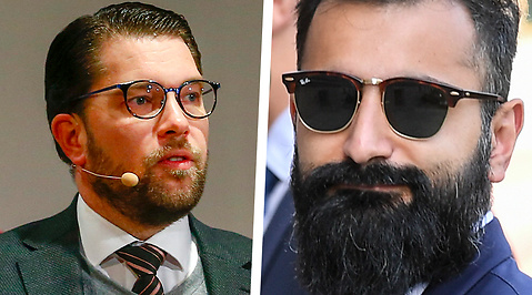 Hanif Bali, Jimmie Åkesson, Moderaterna