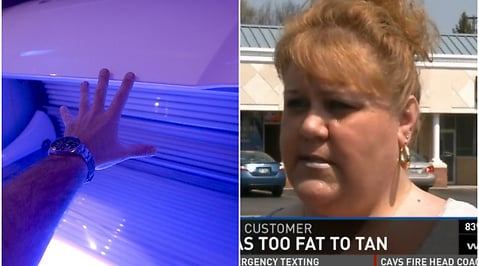 Solarium, Ohio, fat shaming