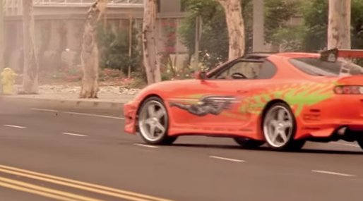 paul walker, Toyota,  Fast and furious, Bil,  supra