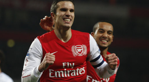 Robin van Persie, Premier League, Arsenal