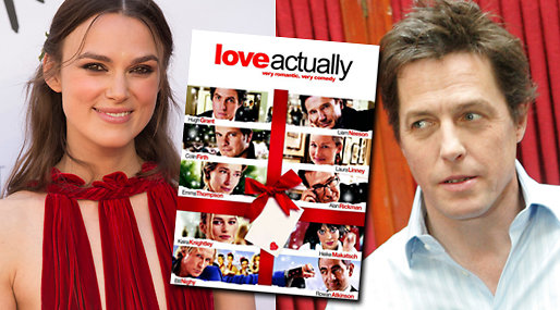 Love Actually, Keira Knightley, Hugh Grant