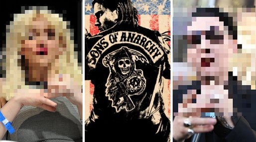 Sons of Anarchy,  Charlie Hunnam, Marilyn Manson,  Jackson Teller,  Ron Tully