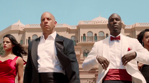 Furious 7, fast and the furious, paul walker, Tyrese Gibson, Michelle Rodriguez, Vin Diesel