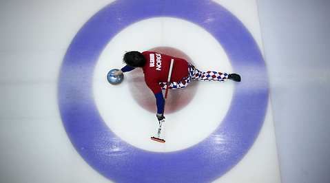 Vancouver, Clown, Olympiska spelen, Curling, Byxor, Norge