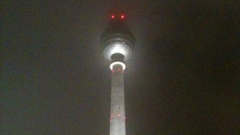 Never underestimate the power of the Berlin TV-tower. Det rimmar.