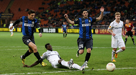 Inter, Emmanuel Adebayor, Tottenham, Fotboll, Spurs, Europa League