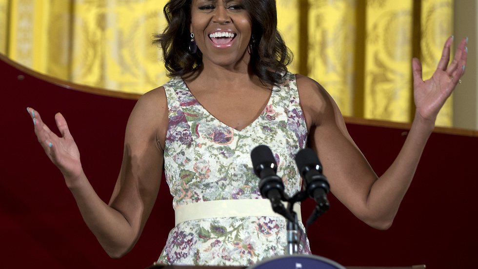 10. Michelle Obama. First Lady i USA.
