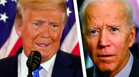 Joe Biden, Donald Trump, Valet i USA 2020
