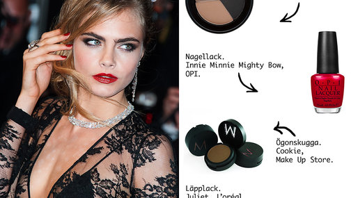 Cara Delevingne, Make Up Store, L'oréal