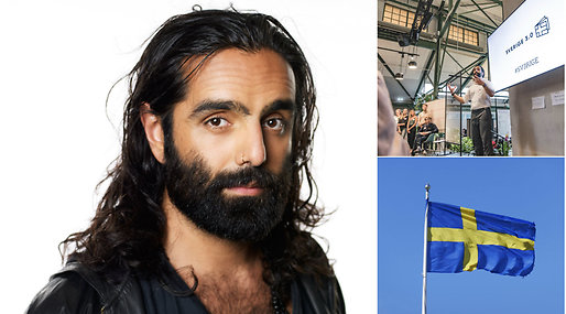 Sverige, Integrationspolitik, navid modiri, Sveriges nationaldag, Debatt