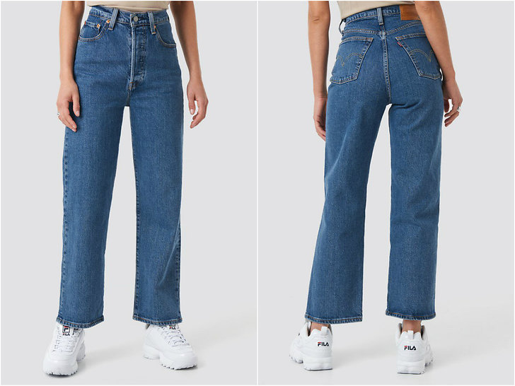 Levi's 501 Ribcage Straight Ankle Jeans