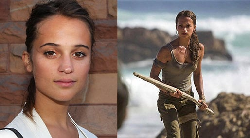 Tomb Raider, Alicia Vikander, Lara Croft