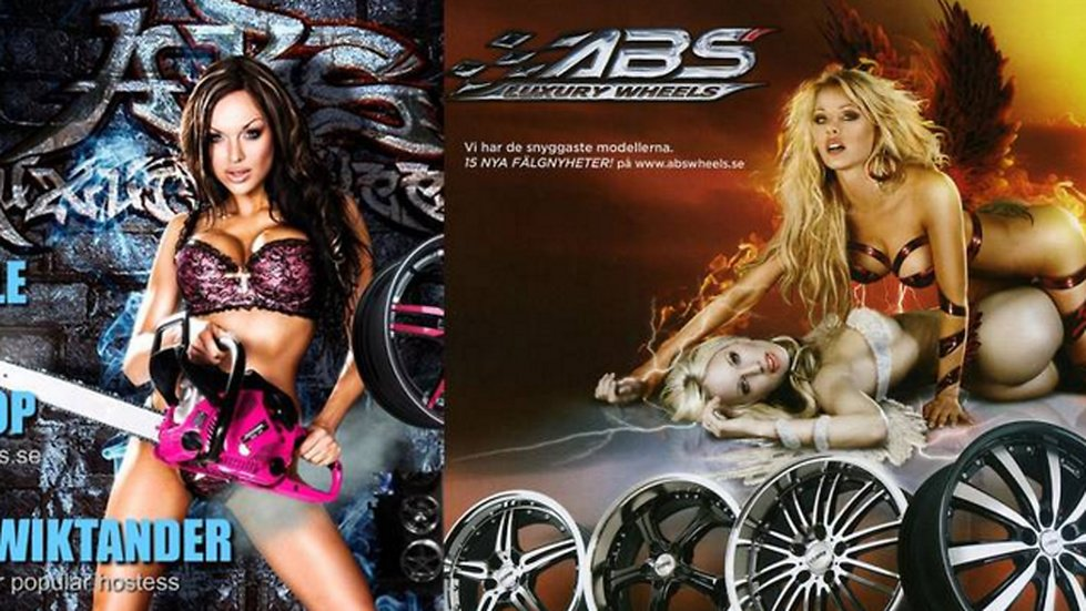 ABS Wheels sexistiska reklam