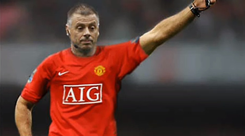 Manchester United, Mark Halsey, Påhopp, Cancer, Liverpool