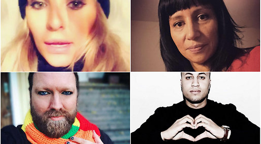 #nohatese, Kändisar, NoHate-dagen, instagram