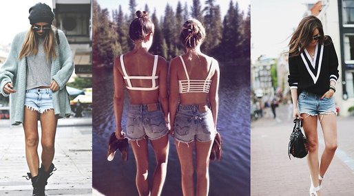 Fashion, inspiration, 10 000, Jeansshorts