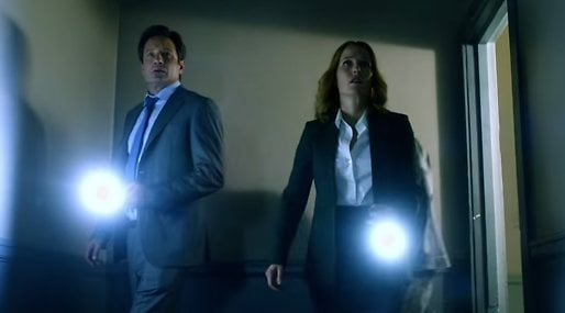 FBI, Akriv X,  Fox Mulder,  Dana Scully