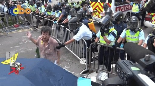 Demokrati, Kina, Hong Kong, Polisbrutalitet, Demonstrationer