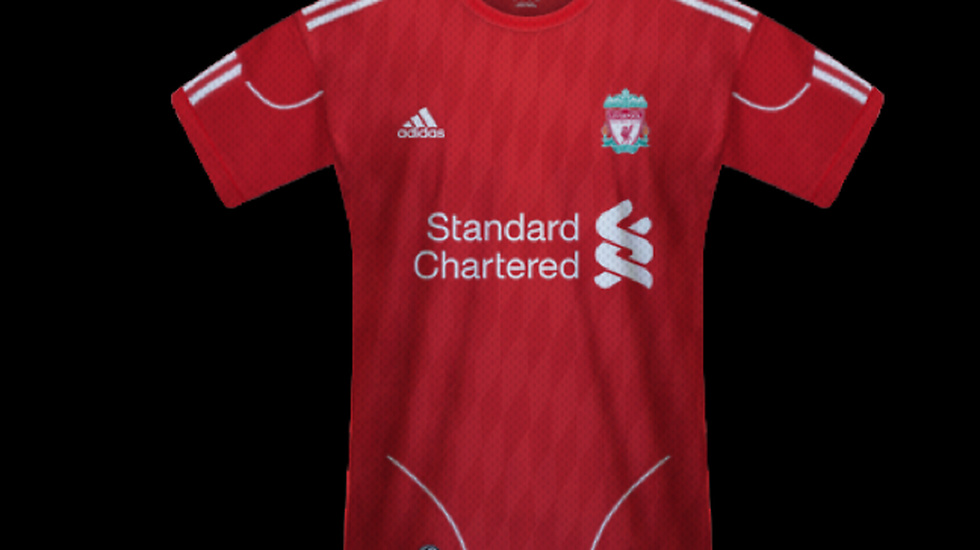 Probably the ugliest Liverpool shirt in the world