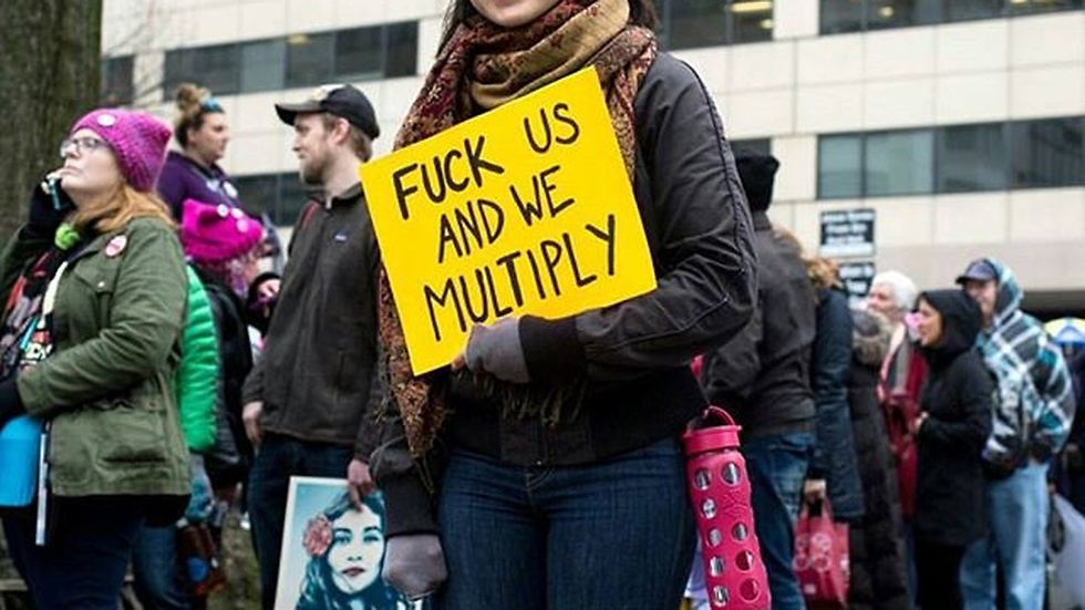 Womans march USA 2017