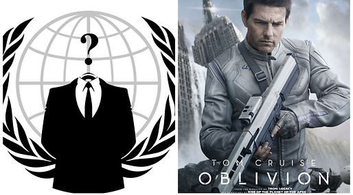 Anonymous, Hollywood, Tom Cruise
