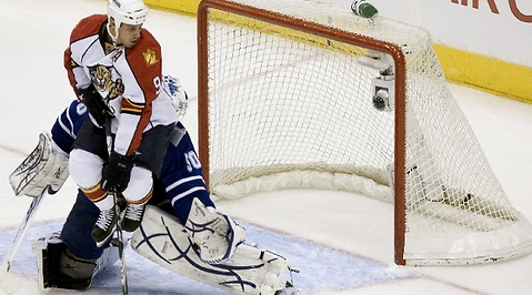 nhl, Florida Panthers, jonas gustavsson, toronto maple leafs