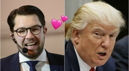 Wall Street Journal, Mattias Karlsson, Donald Trump, Jimmie Åkesson, Sverigedemokraterna
