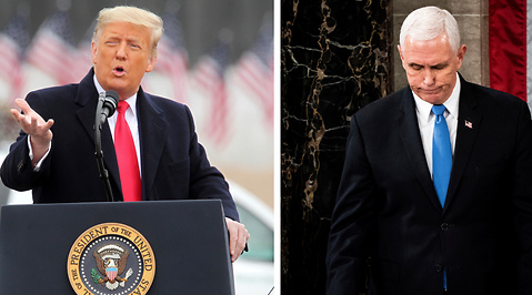 Mike Pence, Donald Trump, Valet i USA 2020